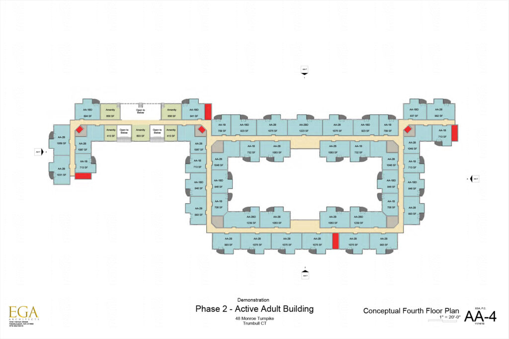 Conceptual Plan of the Fourth Floor