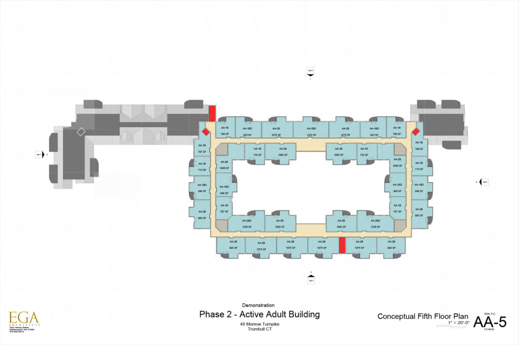 Conceptual Plan of the Fifth Floor